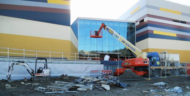 Realizzazione ingressi Centro Commerciale - Lavori eseguiti ...